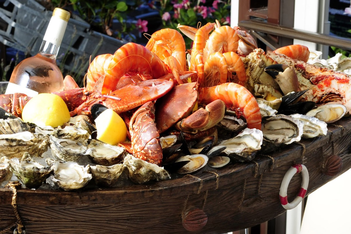 plateau de fruit de mer